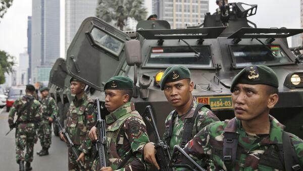 Soldados indonesios (archivo) - Sputnik Mundo