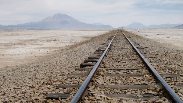 Ferrocarril en Bolivia - Sputnik Mundo