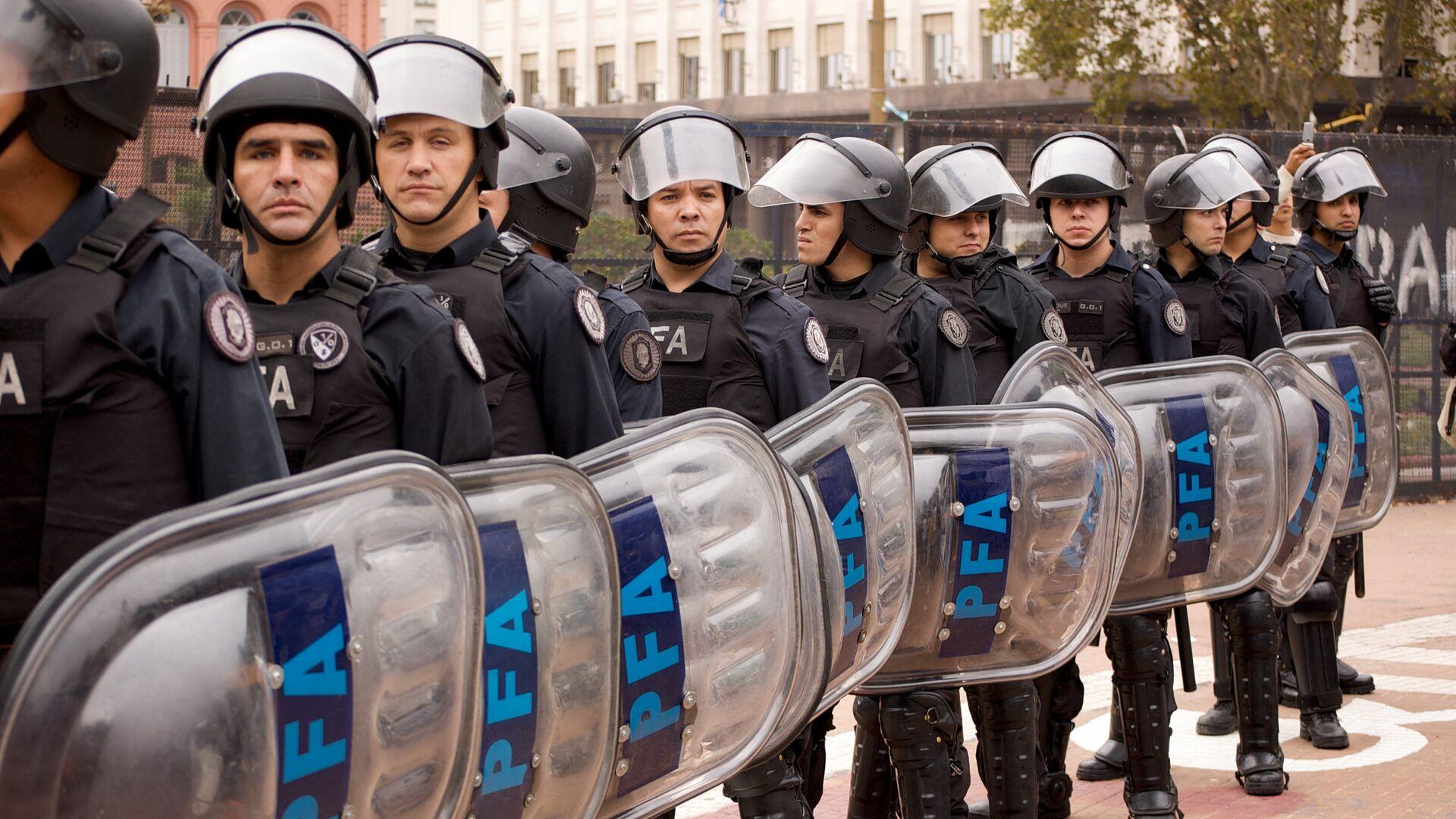 Policía de Argentina - Sputnik Mundo, 1920, 28.05.2021