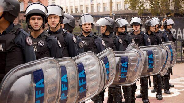 Policía argentina - Sputnik Mundo