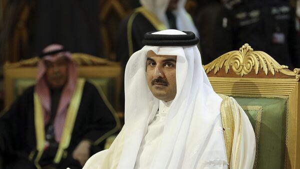 Tamim bin Hamad Thani, emir de Catar - Sputnik Mundo