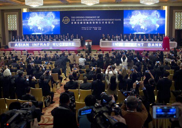 Ceremonia de apertura del Banco Asiático de Inversión en Infraestructura