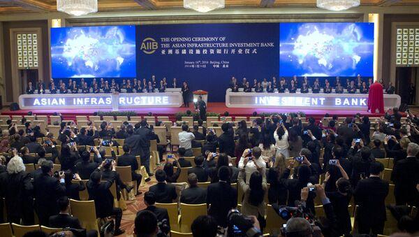 Ceremonia de apertura del Banco Asiático de Inversión en Infraestructura - Sputnik Mundo