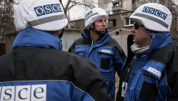 OSCE SMM monitoring the movement of heavy weaponry in eastern Ukraine - Sputnik Mundo