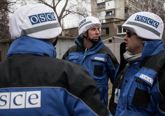 La misión de la OSCE en Ucrania
