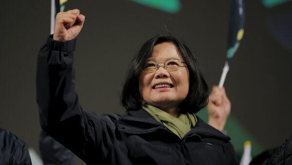 Tsai Ing-wen, la ganadora de las elecciones presidenciales en Taiwán - Sputnik Mundo