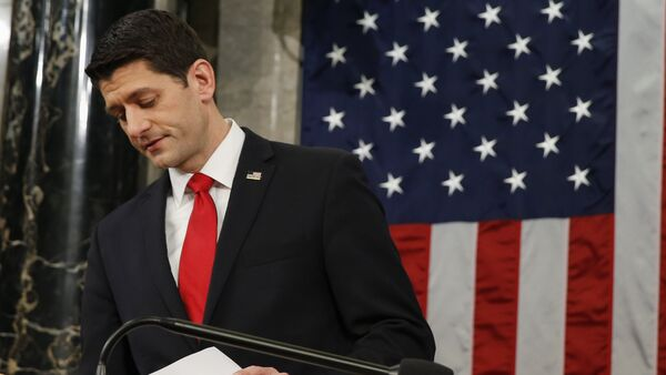 Paul Ryan, portavoz de la Cámara de Representantes del Congreso de EEUU - Sputnik Mundo