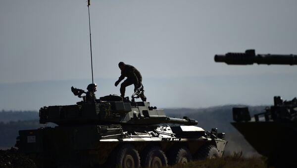 Militares en España - Sputnik Mundo