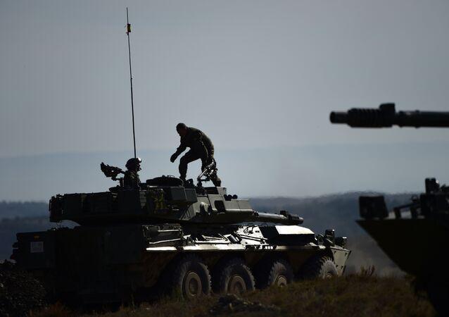 Militares en España