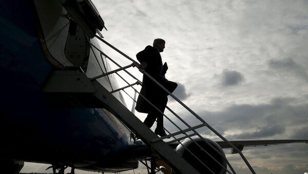 Secretario de Estado de EEUU, John Kerry llega a Vienna para la reunión sobre levantamiento de sanciones a Irán - Sputnik Mundo