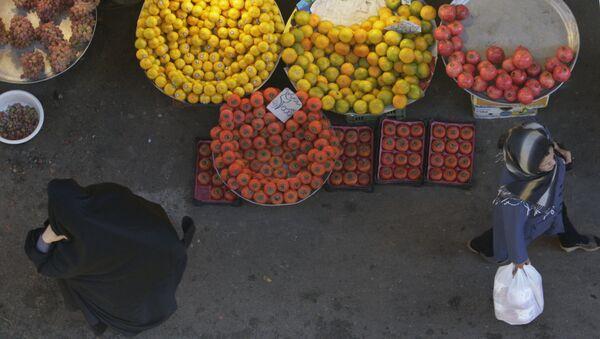 Mercado en Teherán, Irán - Sputnik Mundo