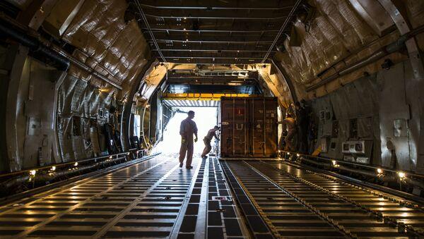 Avión de carga de EEUU - Sputnik Mundo