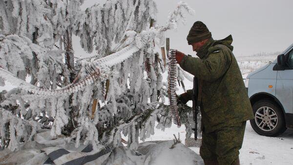 El árbol de Navidad en Donbás (Archivo) - Sputnik Mundo
