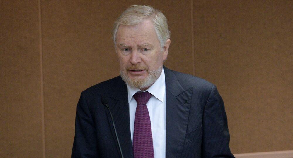 Serguéi Storchak, viceministro de Finanzas de Rusia