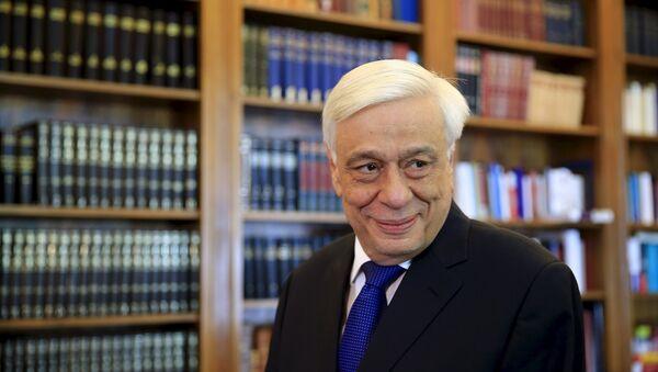 Prokopis Pavlópulos, el presidente de Grecia - Sputnik Mundo