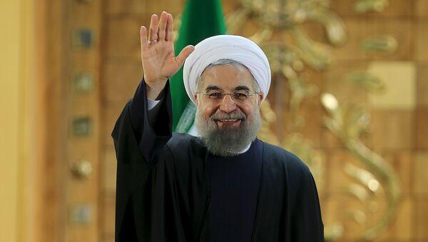 Hasán Rohani, presidente de Irán (archivo) - Sputnik Mundo