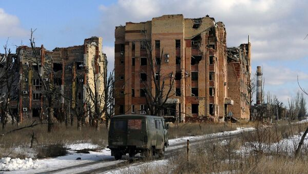 Situación en Donetsk (Archivo) - Sputnik Mundo