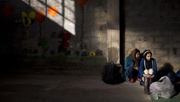 Refugiadas en la UE - Sputnik Mundo