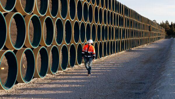 Construcción del gasoducto Nord Stream - Sputnik Mundo