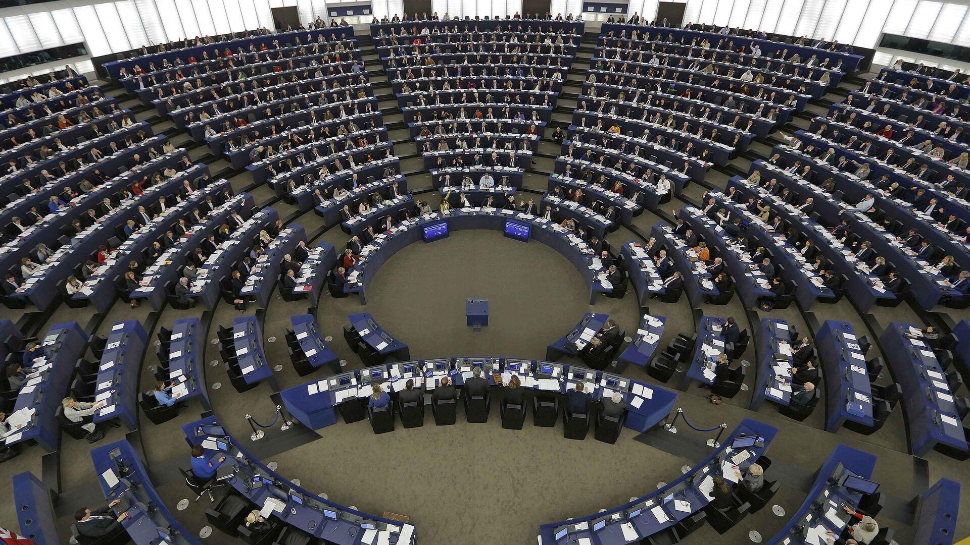 Parlamento Europeo en sesión - Sputnik Mundo, 1920, 09.06.2021
