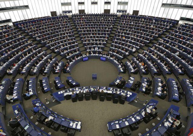 Parlamento Europeo en sesión (archivo)