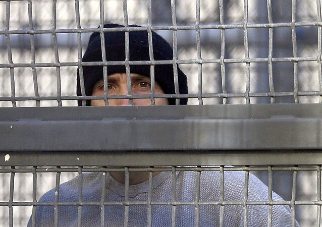 Un preso en el cárcel