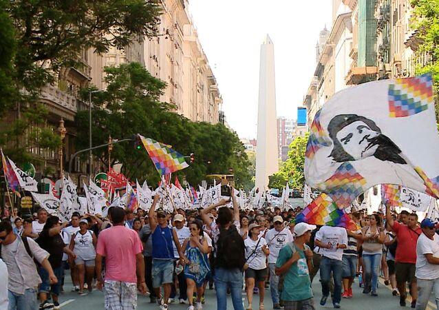 Argentinos exigen la liberación de Milagro Sala