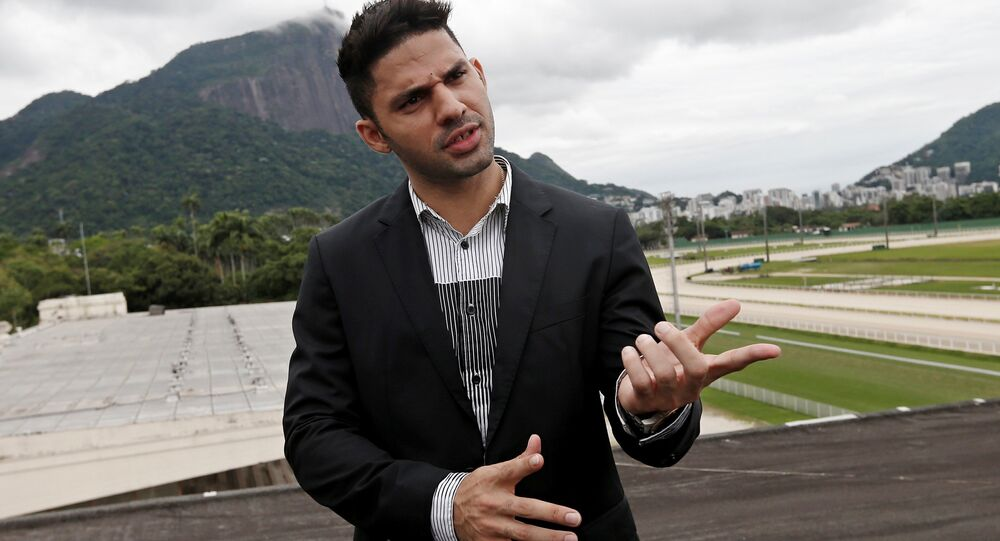 David Miranda, diputado brasileño (archivo)