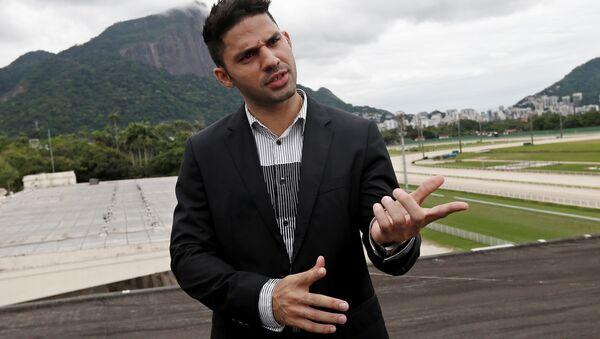 David Miranda, diputado brasileño (archivo) - Sputnik Mundo