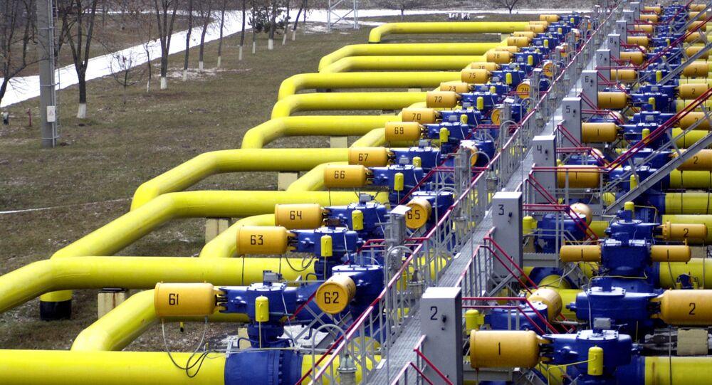 Tuberías de gas en Ucrania (archivo)