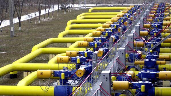 Tuberías de gas en Boyarka, Ucrania - Sputnik Mundo