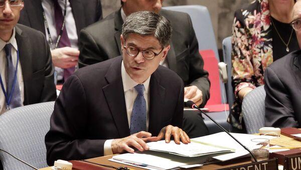 Jacob Lew, secretario del Tesoro de EEUU - Sputnik Mundo