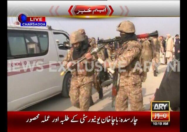 Ataque a la universidad Bacha Khan en Pakistán