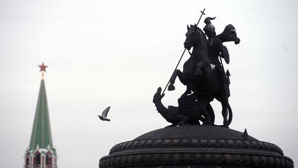 Estátua de Jorge de Capadocia en Kremlin - Sputnik Mundo