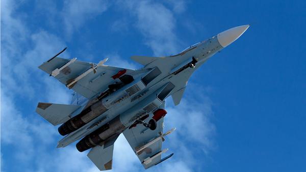 Caza ruso Su-35 en Siria - Sputnik Mundo