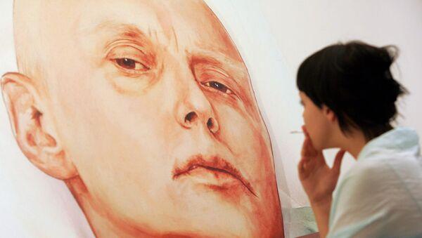 El retrato de Litvinenko en la galería Guelman - Sputnik Mundo