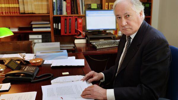 Sir Robert Owen, juez de instrucción del caso de Alexandr Litvinenko - Sputnik Mundo