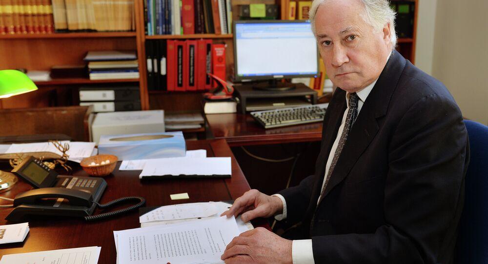 Sir Robert Owen, juez de instrucción del caso de Alexandr Litvinenko