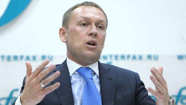 Andréi Lugovói durante una rueda de prensa sobre el caso Litvinenko - Sputnik Mundo