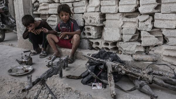 Niños en Siria - Sputnik Mundo