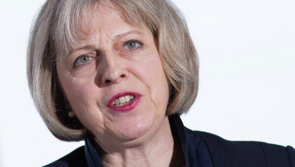 Theresa May, ministra del Interior de Reino Unido - Sputnik Mundo