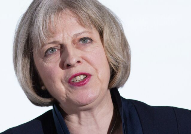 Theresa May, ministra del Interior de Reino Unido