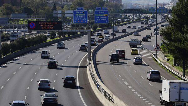 Autopista M-30 en Madrid - Sputnik Mundo