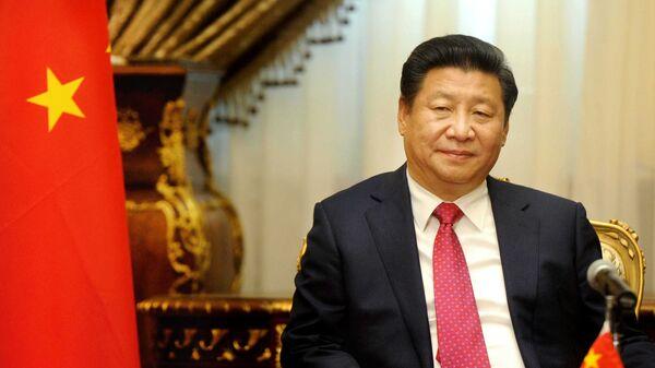 Chinese President Xi Jinping visits the parliament in Cairo, Egypt, Thursday, Jan. 21, 2016. - Sputnik Mundo