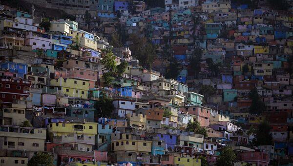 Barrio en Puerto Príncipe - Sputnik Mundo