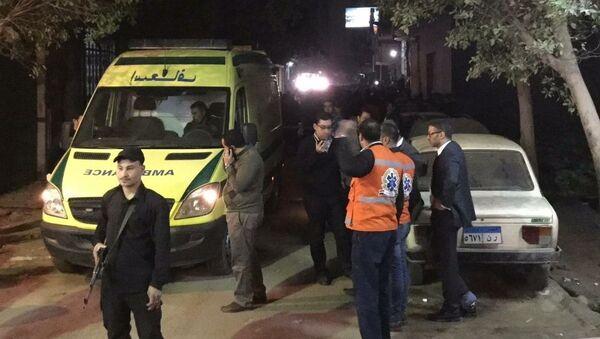 Explosión de una bomba artesanal en área de Marioutiya, Egipto - Sputnik Mundo