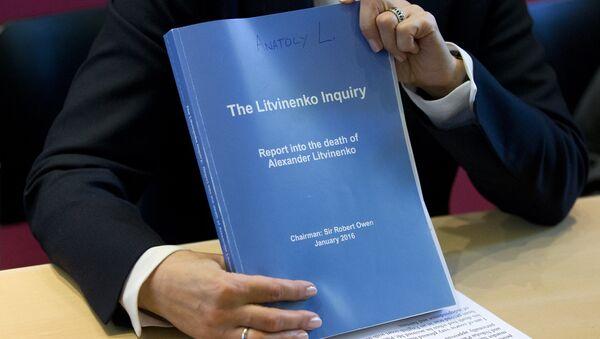 Caso de Alexander Litvinenko - Sputnik Mundo