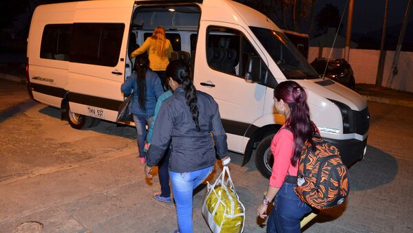 Guerrilleros indultados dejan la cárcel - Sputnik Mundo