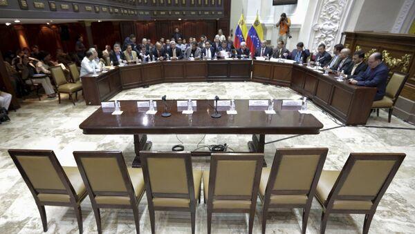 En la Asamblea Nacional de Venezuela - Sputnik Mundo