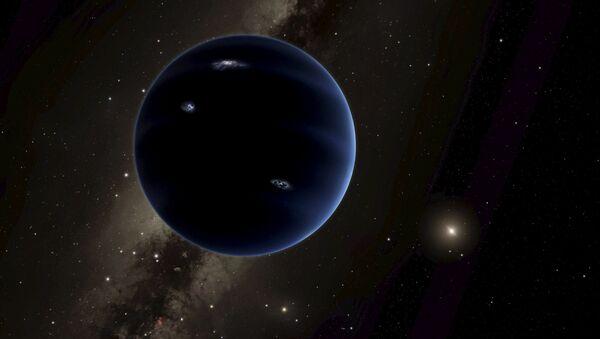 Una ilustración de lo que podría ser el Planeta Nueve - Sputnik Mundo